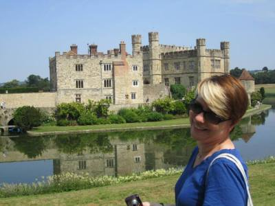 Because Leeds castle was owned by so many queens, it became known as the 'ladies castle'.